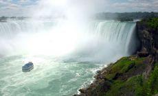 Niagara Falls - výlet člunem
