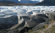 Ledovec u Kennicott v NP Wrangell-St.Elias