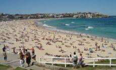 Sydney pláž Bondi