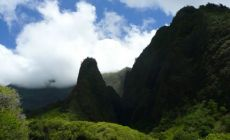 Iao Needle v Iao Valley, Maui