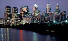 Philadelphia v noci