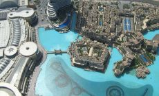 Úžasný výhled z Burj Khalifa