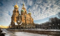 St. Petersburg, katedrála krve svatého spasitele