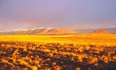 Úsvit v Patagonii